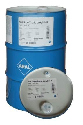 Моторное масло Aral SuperTronic LongLife III 5W-30 60л