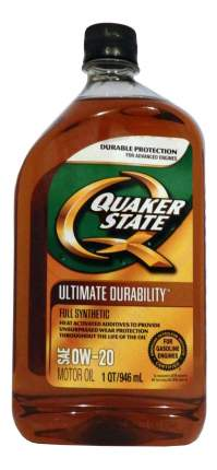 Моторное масло Quaker state Ultimate Durability 0W-20 0,946л
