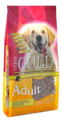 Сухой корм для собак NERO GOLD Adult, все породы, курица и рис, 2,5кг