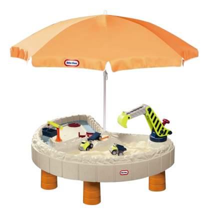 Песочница Little Tikes с зонтом и зоной для воды (401N)