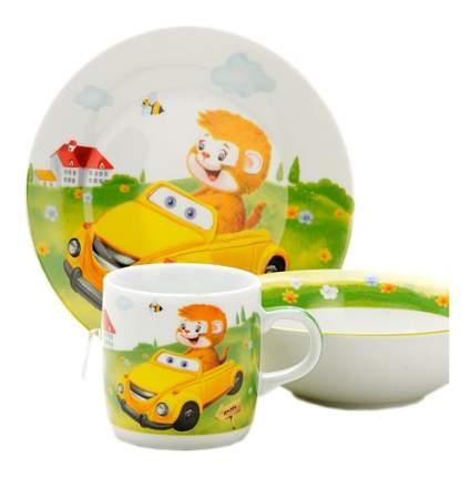 Набор детской посуды Loraine Машинка