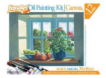 Набор для рисования EasyArt Цветы на окне