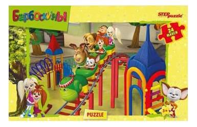 Пазл Step Puzzle Барбоскины 24 детали