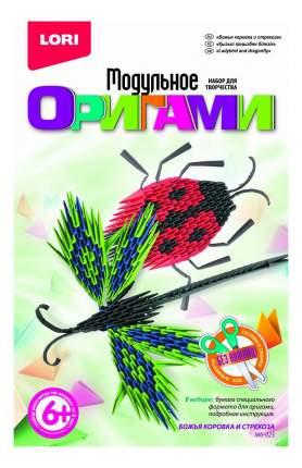 Оригами LORI Божья коровка и стрекоза