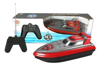 Радиоуправляемый катер Han Xing Toys Катер красно-серый MX-0012-4