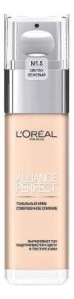Тональный крем L'Oreal Alliance Perfect тон N1,5 Linen