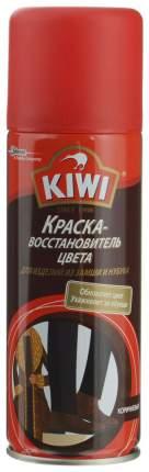 Краска для обуви Kiwi восстановитель цвета для замши черная спрей 200 мл