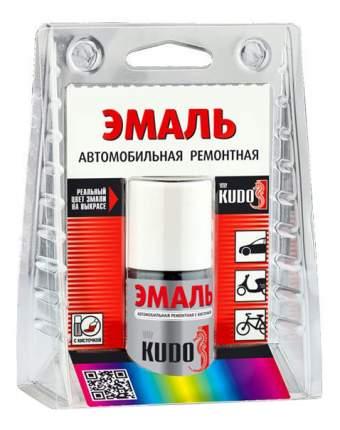 Эмаль автомобильная с кисточкой «белый 201» KUDO ,15 г