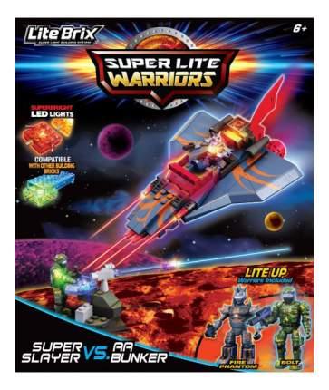 Конструктор пластиковый Cra-Z-Art Военная битва Самолет-Убийца
