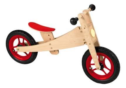 Беговел Geuther 2 в 1 Bike натуральный, красный