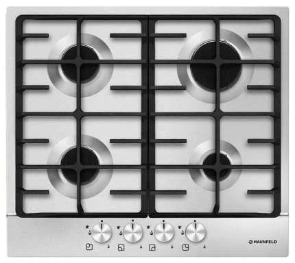 Встраиваемая варочная панель газовая MAUNFELD MGHS 64 77S Silver