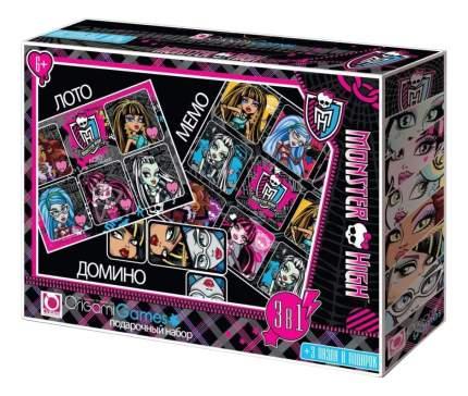 Семейная настольная игра Origami Monster High