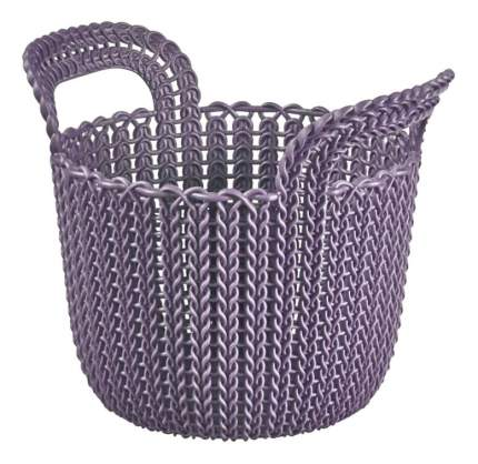 Корзина для белья Curver Кnit xs 3 л фиолетовая