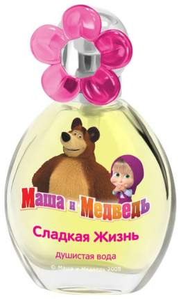 Детская душистая вода Маша и Медведь «Сладкая Жизнь» 35 мл