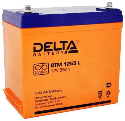 Аккумулятор Delta Для систем бесперебойного питания 55 Ач Обратная полярность