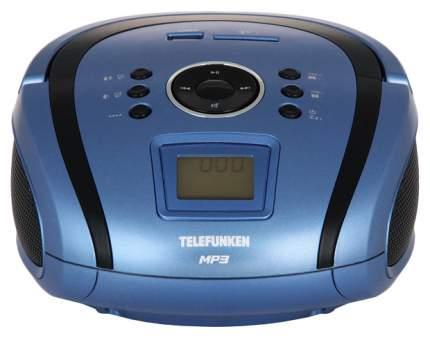 Магнитола TELEFUNKEN TF-SRP3450 Синий, черный