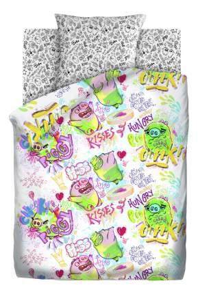 Комплект постельного белья детский Непоседа 1,5 бязь Angry Birds Плохие свинки