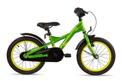 Велосипед Scool XXlite 16 steel 2016 One size зеленый мальчик