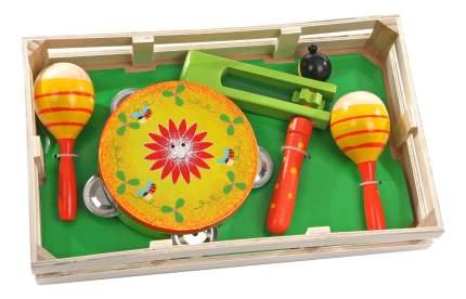 Набор музыкальных инструментов детских Мир Деревянных Игрушек Музыкальный набор 2