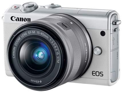 Фотоаппарат системный Canon EOS M100 15-45 White