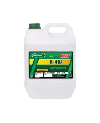 Гидравлическое масло OILRIGHT веретенное 5л 2596