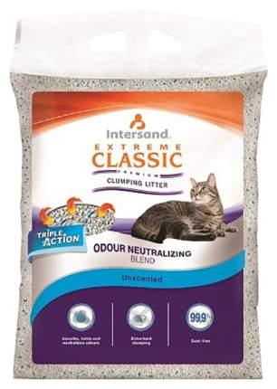 Комкующийся наполнитель для кошек Intersand Extreme Classic OL Unscented бентонитовый 15кг