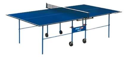 Теннисный стол Start Line Olympic синий, с сеткой