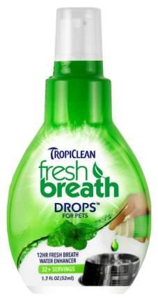 Капли от запаха из пасти для собак TropiClean Fresh Breath, 52 мл
