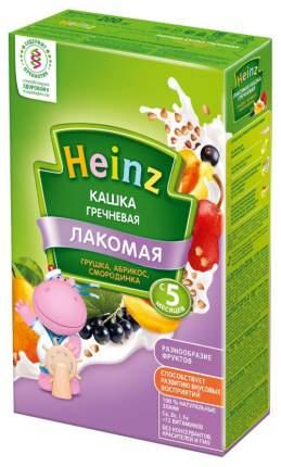 Молочная каша Heinz Лакомая Гречневая грушка, абрикос, смородинка с 5 мес 200 г