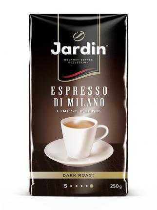 Кофе молотый Jardin espresso di milano 250 г