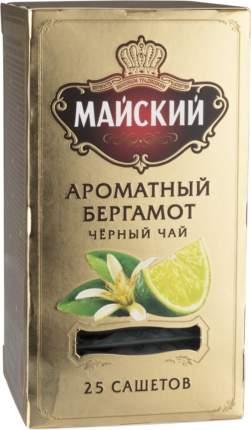 Чай черный Майский ароматный бергамот 25 пакетиков