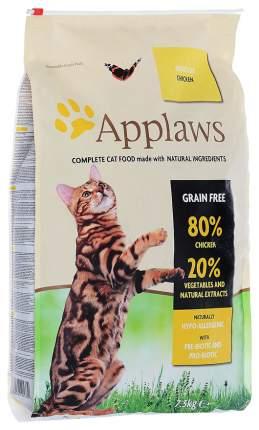 Сухой корм для кошек Applaws Adult Grain Free, курица, 7,5кг