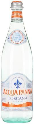 Вода питьевая Acqua Panna негазированная стекло 0.75 л