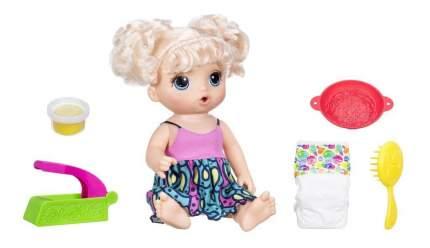 Кукла Baby Alive Малышка и лапша