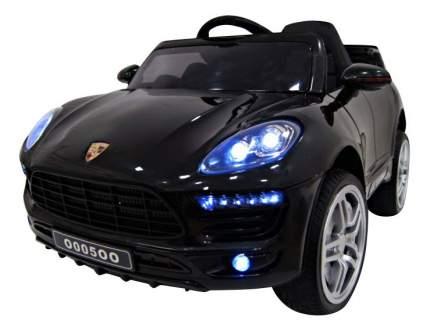 Электромобиль Porsche Macan Vip чёрный RIVERTOYS