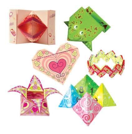Набор фигурок Оригами для девчонок Клеvер Р38348