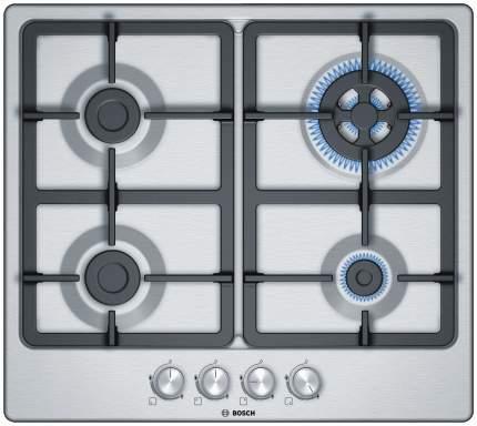 Встраиваемая варочная панель газовая Bosch PGH6B5O90R Silver