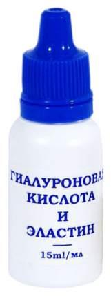 Гель для лица DNС Гиалуроновая кислота и эластин