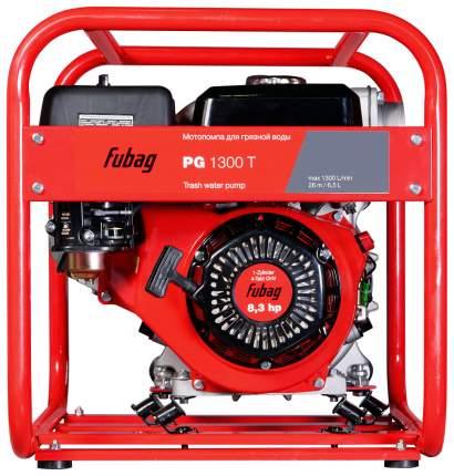Бензиновая мотопомпа FUBAG PG 1300 T для сильнозагрязненной воды 838247