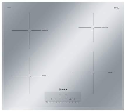 Встраиваемая варочная панель индукционная Bosch PUE659FB1E Silver