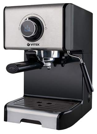 Рожковая кофеварка Vitek VT-1518-BK Black