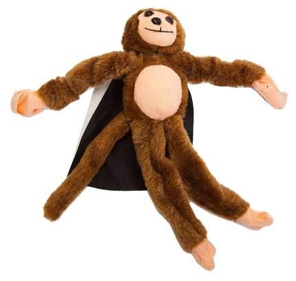 Рогатка обезьянка плюшевая