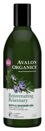 Гель для ванны и душа Avalon Organics Rosemary 355 мл