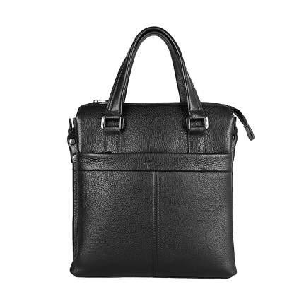 Портфель мужской кожаный Pellecon 102-21546 черный