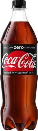 Напиток безалкогольный сильногазированный Coca-Cola zero пластик 0.9 л