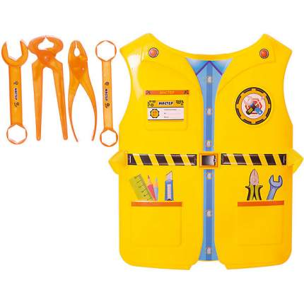 Набор 1toy костюм профи с жилетом мастер, 4 предмета (T10486)