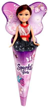 Кукла Sparkle Girlz модница в рожке 14,5 см
