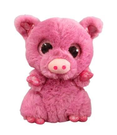 Мягкая игрушка Свинка розовая, 15 см