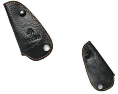 Чехол-брелок для ключа автомобилей кожа с прострочкой желтой нитью Renault 7711546610