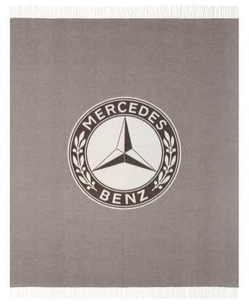 Плед Mercedes B66041560 Dark Brown/Off-white